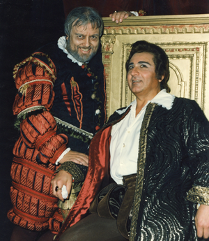 JR with Umberto Grilli Rigoletto Trieste