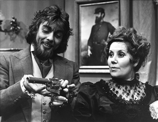 John Rawnsley and Vyna Martyn in The Bear 1973